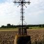 Zabiele - Żelazny krzyż przydrożny, zachodni skraj wioski