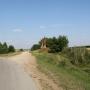 Jatwież Duża - Kapliczka słupowa i krzyż na rozstajach na wschód od wioski