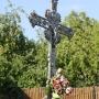 Jatwieź Mała - Piękny krzyż żelazny przy posesji nr 2