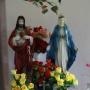 Klewianka - wnętrze kapliczki na rozstajach