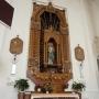 Ołtarz boczny pw. Niepokalanego Poczęcia NMP. Autorem projektu był architekt Stanisław Bukowski, który kontynuował po wojnie prace przy ukończeniu kościoła św. Rocha.