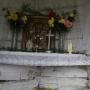 Mogilnice - Kapliczka - wnętrze niszy