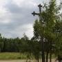 Kolonia Jaświły - Trzy krzyże przydrożne przy zakręcie na Kolonię