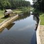 Kanał Augustowski - Śluza Kurzyniec, widok na stronę białoruską