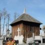 Kaplica drewniana na cmentarzu z 1795 roku