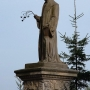 Autorem pomnika słynnego polskiego księdza przyrodnika był znany rzeźbiarz Jakub Tatarkiewicz.