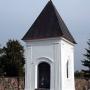 Kapliczka w ogrodzeniu plebani z XIX,w
