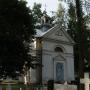 Kaplica grobowa rodziny Szczuków z 1859 roku.
