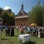 Liczne imprezy organizowane w Muzeum Rolnictwa rozpoczynają się często przed zabytkowym kościołem.Tutaj podczas Święta Chleba (18.08.2013r) odbyło się święcenie zwierząt gospodarskich.