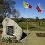 Obelisk ku czci prezydenta R. Kaczorowskiego, jednej z ofiar katastrofy smoleńskiej z 10.04.2010r.