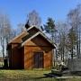 Drewniana cerkiew cmentarna św. św. Męczenników Borysa i Gleba z 1865r.