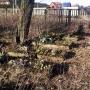 Michałowo - Stary ewangelicki cmentarz.