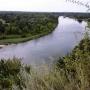Widok na rzekę Bug z Góry zamkowej