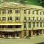 Tak wygląda obecnie hotel Ritz, ale niestety tylko na makiecie, która na stałe stoi obecnie w Muzeum Historycznym.