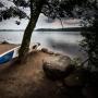 Jezioro Stuzienniczne, piękne miejsce widokowe i wypoczynkowe wraz z kąpieliskiem.