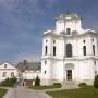 Zespół klasztorny s. Benedyktynek. Dominujący barkowy kościół pw. Wszystkich Swiętych z 1738r.
