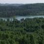 Jezioro Jaczno - widok ze Smolnik