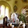 Wnętrze cerkwi p.w. Podwyższenia Krzyża Świętego mogę zaprezentować dzięki uprzejmości proboszcza tutejszej parafii.