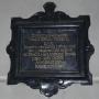 Pozostałością po nagrobku zmarłej w 1717 r Teresy Wydrzyckiej jest ta wmurowana w ścianę tablica z czerwonego marmuru. Była ona fundatorką lampki wiecznej przed Najświętszym Sakramentem.