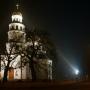 Jesienno-nocne. Cerkiew w Gródku.
