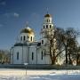 Cerkiew w Gródku. Widok od strony północnej.