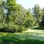 Ukryta w głebi parku wyspa, na krzyżującej sie z główym kanałem, wodnej odnodze.