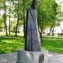 Pomnik króla Zygmunta Augusta ustawiony na knyszyńskim rynku.
