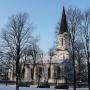 Kościół pw. NMP Królowej Polski, pierwotnie kircha ewangelicko-augsburska.