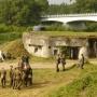 W okolicy najlepiej zachowanego bunkra, z okazji 70 lecia bitwy obronnej o Nowogród,została przeprowadzona rekonstrukcja walk z 8-10 września 1939 roku. Na razie żołnierze polscy i niemieccy przygotowują się do tego ważnego wydarzenia.