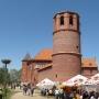 Zamek tykociński pnie się do góry. Stan z maja 2009 roku.