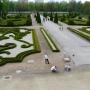 Ogród Barokowy (zdjęcie z 2009 r) przed prowadzonymi pracami rewaloryzacyjnymi.