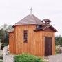 Drewniana kaplica cmentarna z 2 poł. XIXw