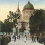Sobór św. Mikołaja na podkolorowanej pocztówce z okresu niemieckiego (1915- 1919Ze zbiorów J. Murawiejskiego.
