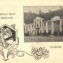 Klasztor w okresie niemieckim. Jak widać nazwa hotelu wywodziła się z ulicy przy której był on położony.Ze zbiorów Jana Murawiejskiego