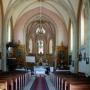 Uhowo - wnętrze kościoła pw.św. Wojciecha