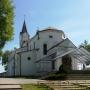 Kościół par. p.w. Narodzenia NMP. Sanktuarium Matki Bożej pocieszenia.