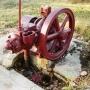 Zakalinki - Silnik spalinowy firmy Windyga przy koźlaku.