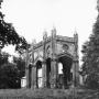 Portal dawnego pałacu Michała Paca - stan z początku lat sześćdziesiątych XX w.