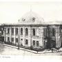 Wielka Synagoga wybudowana w latach 1909- 1913 dotrwała do 27.06.1941, kiedy to spłonęła wraz z 1000 wpędzonych tam przez oddziały niemieckie Żydów.