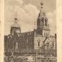 Na pocztówce z okresu niemieckiego (1915- 1919) garnizonowa cerkiew p.w. Kazańskiej Ikony Matki Bożej widać bogate zdobienia, charakterystyczne dla prawosławnych obiektów sakralnych.