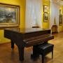 Salę z obrazami malarzy polskich z przełomu XIX i XX wieku otwiera wspaniałe dzieło Alfreda Wierusza- Kowalskiego