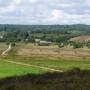 Widok ze wgórza w okolicy wsi Ozierany Małe (widok na zachodnią stronę)