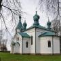 Zabytkowa cerkiew par. p.w. Wniebowstąpienia Pańskiego