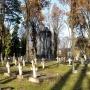 Cmentarz wojskowy z 1929roku.