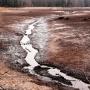 Jezioro Komosa bez wody.