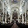 Główna nawa kościoła p. w. Ofiarowania Matki Bożej.
