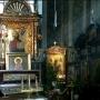 Nawa boczna z relikwiami św. Gabriela.