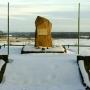 Pomnik gen. Armii Czerwonej Żołudiewa.
