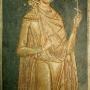 Oryginalny XVI wieczny fresk.