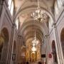 Wnętrze kościoła Narodzenia NMP.